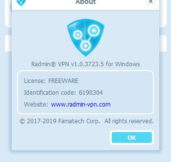 Radmin VPN 2.0.0