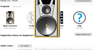 dBpowerAMP Music Converter Interface